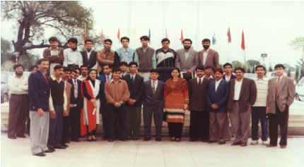 Class Group Photo on an Occasion
